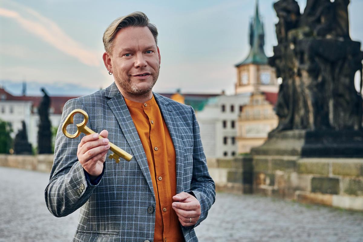 Matěj Ruppert v kampani pro Prahu