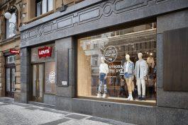 Džíny Levi's mají v Praze největší obchod ve střední a východní Evropě