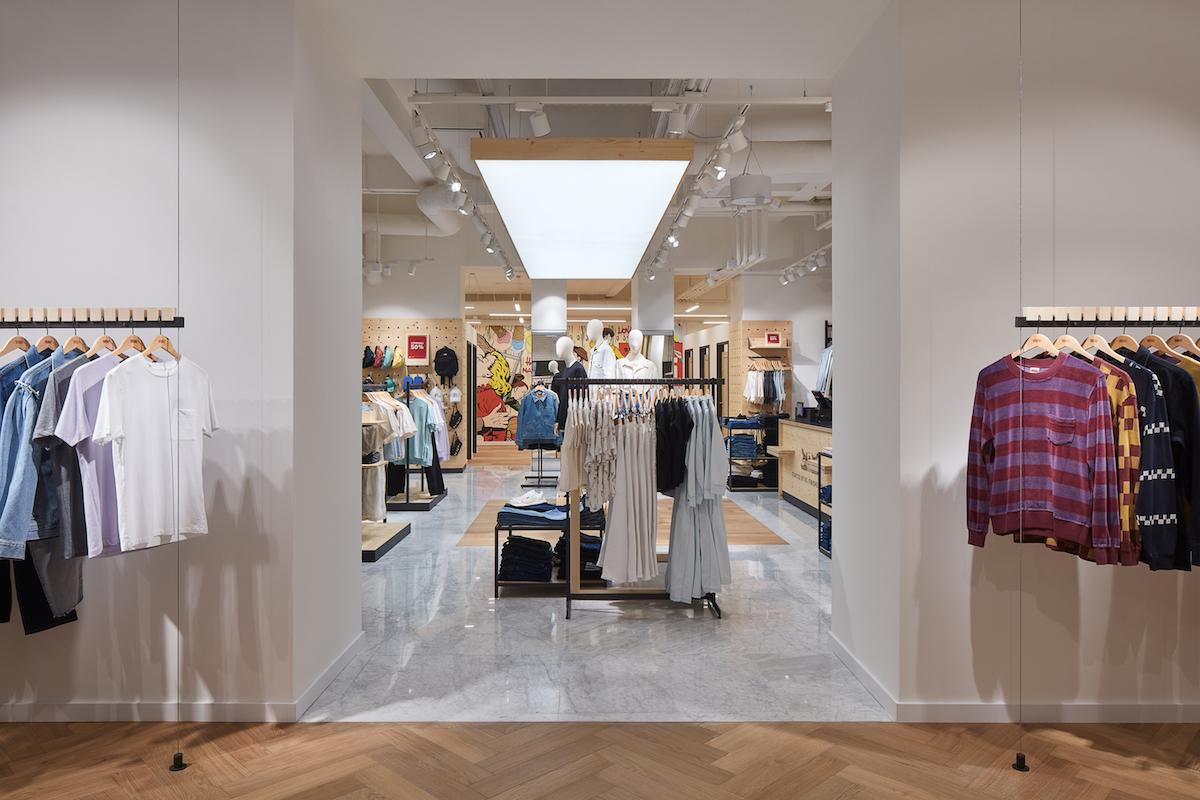 Levi's Store Praha. Foto: BoysPlayNice