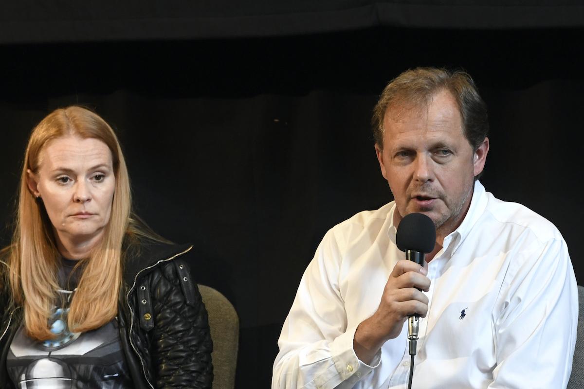 Helena Bezděk Fraňková a Petr Dvořák