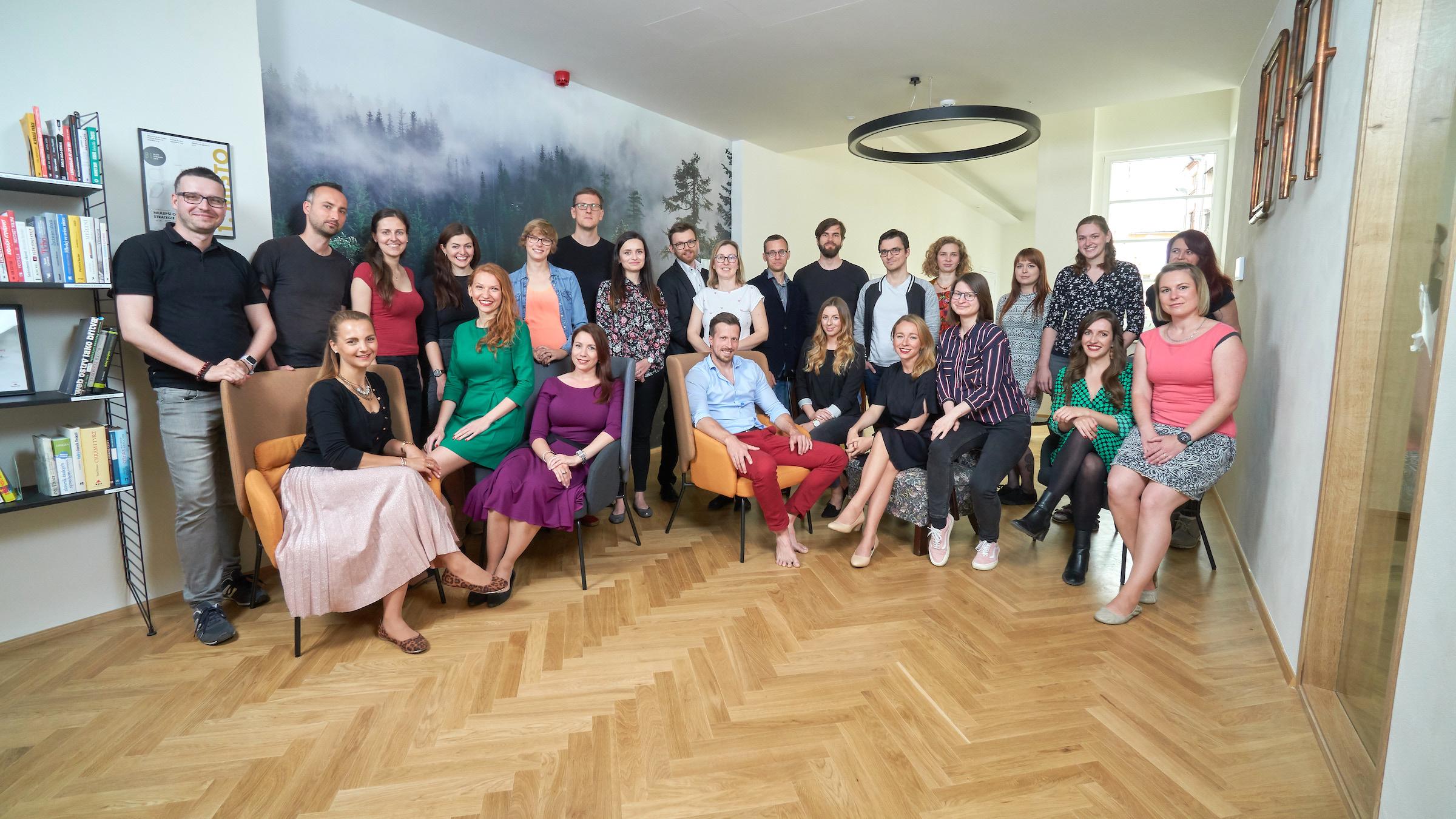 Obsahová agentura v nových brněnských kancelářích