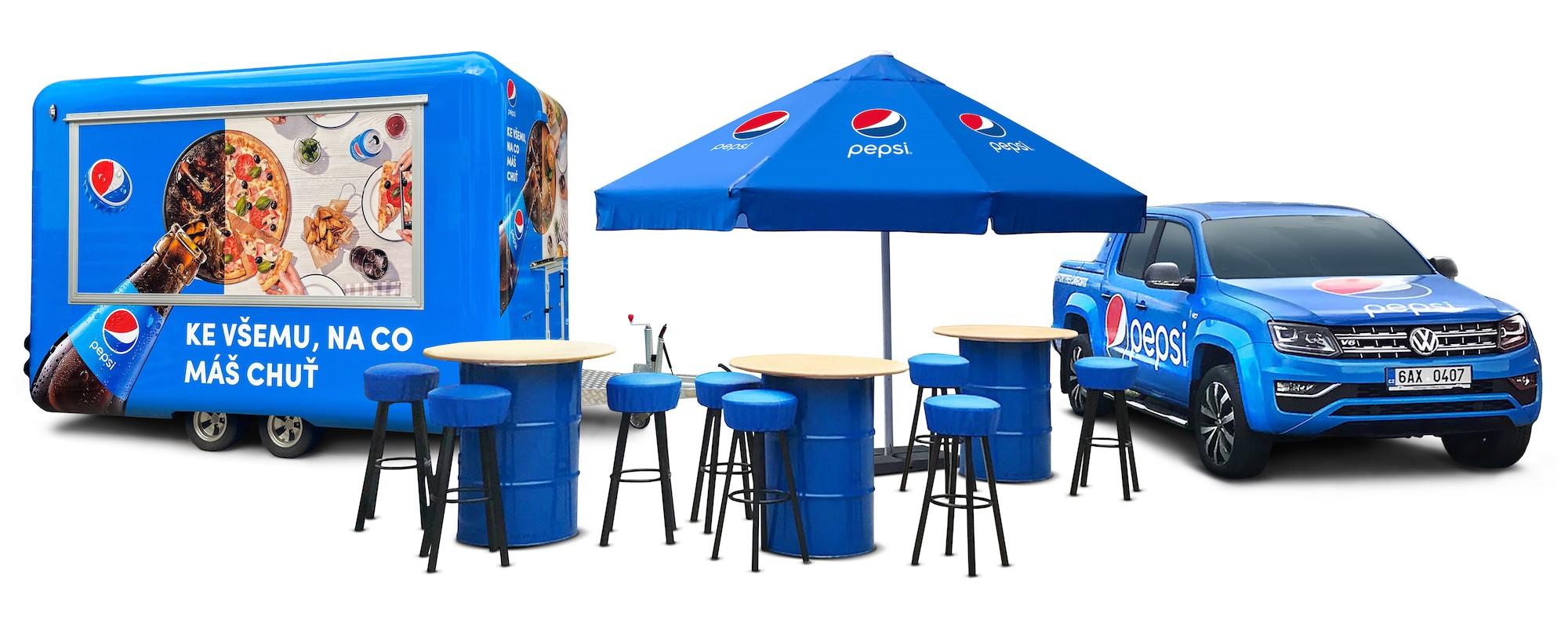 Sada vybavení od Pepsi