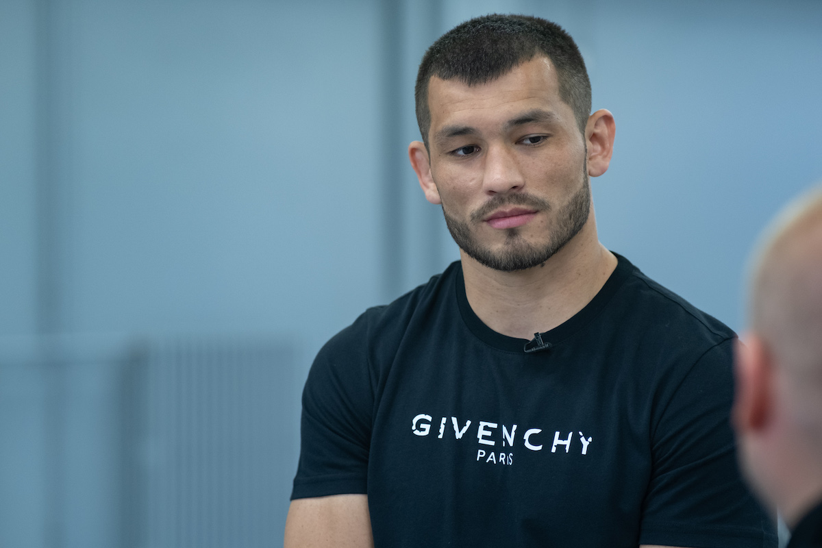 Machmud Muradov v kampani Tipsportu