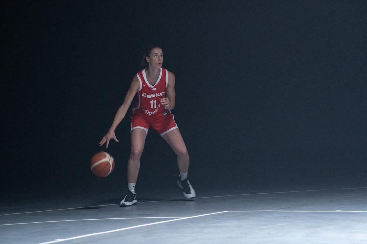 Kateřina Elhotová v kampani Tipsportu