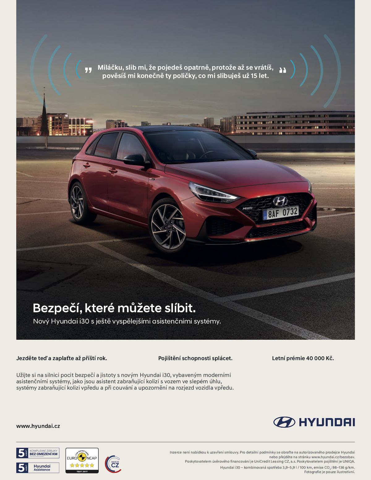 Hyundai: Bezpečí, které můžete slíbit (VCCP Prague)