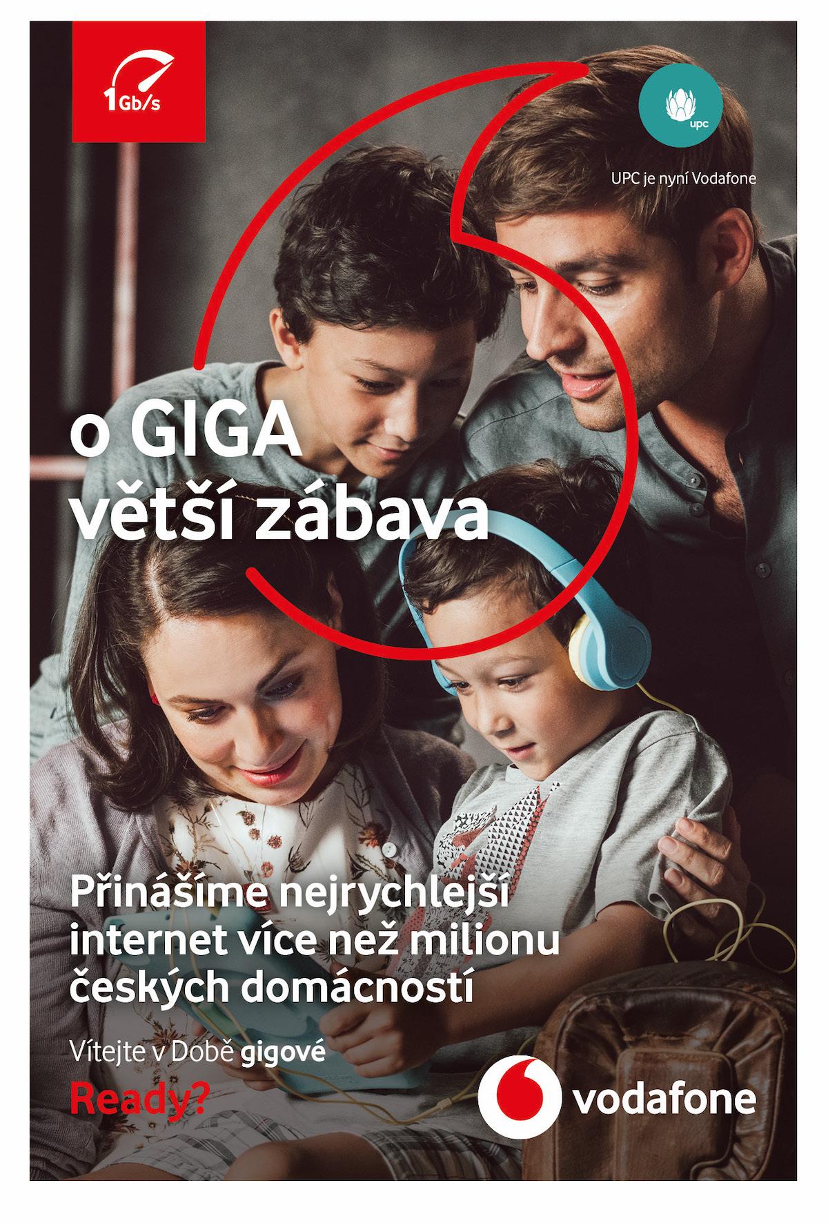 Vodafone: Doba gigová (McCann Prague)