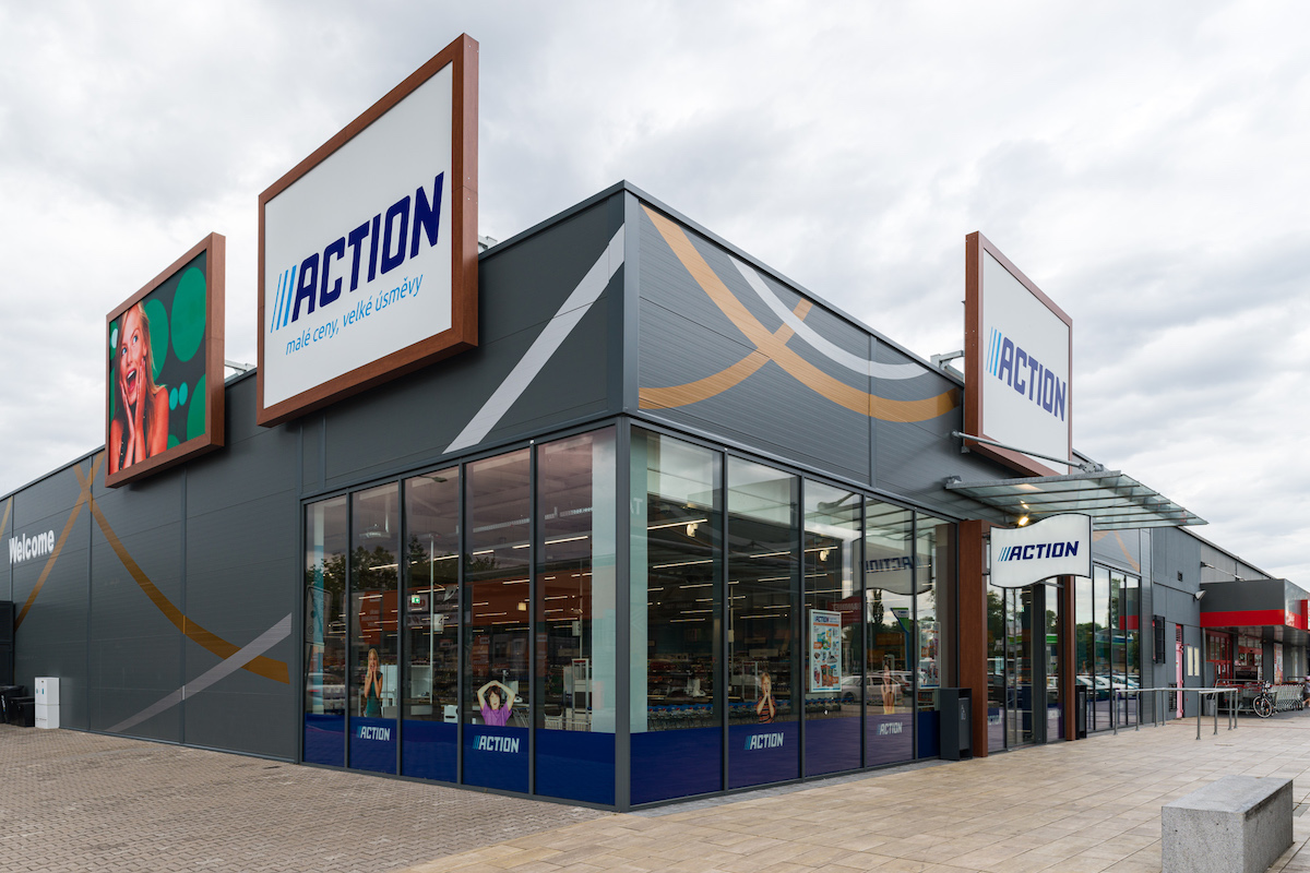 Prodejna řetězce Action v Hradci Králové
