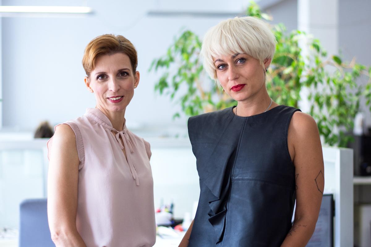 Mária Bartalská (vlevo) a Marie Cicvárek Fléglová