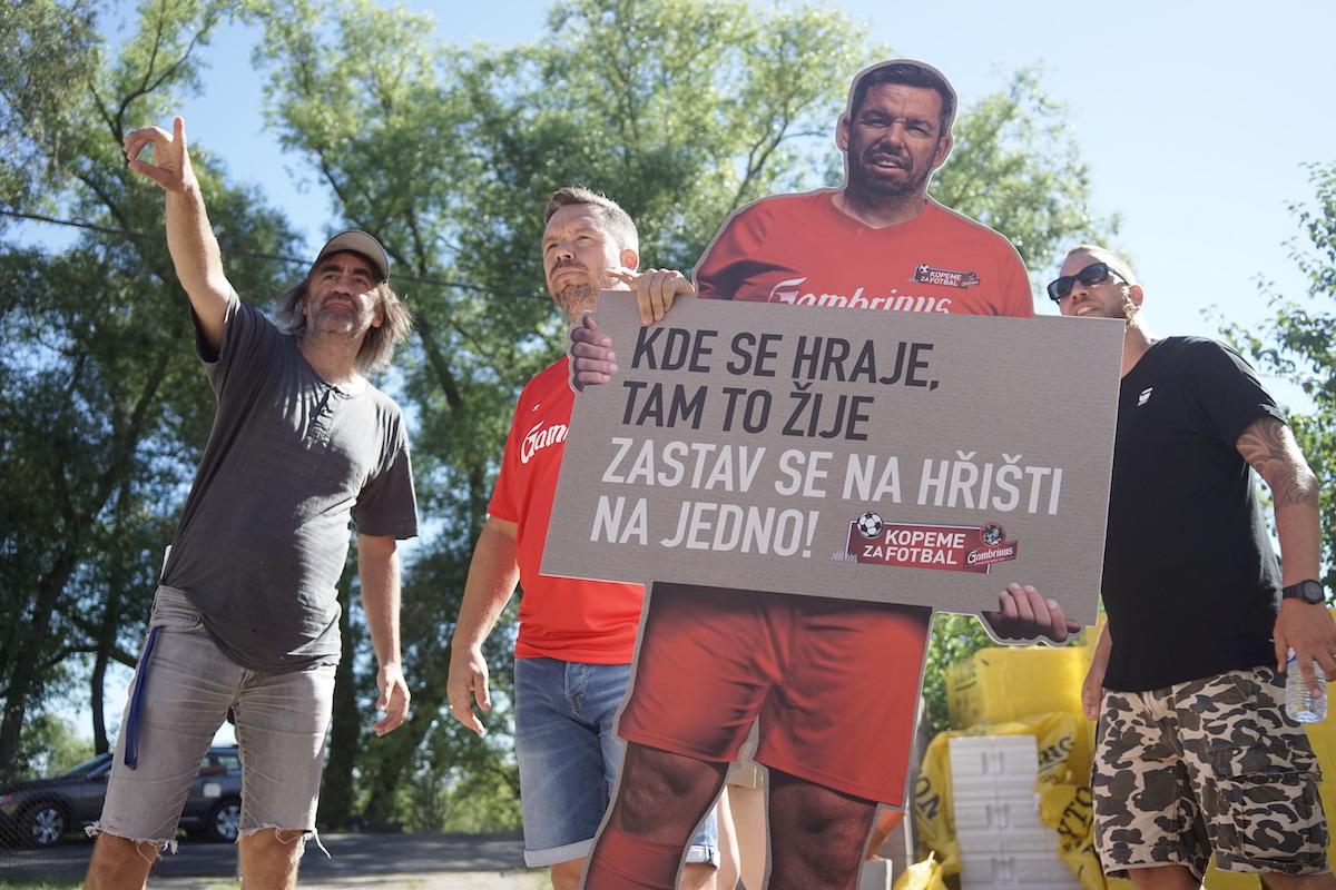 Pavla Horvátha v kampani značky Gambrinus režíroval Jakub Kohák