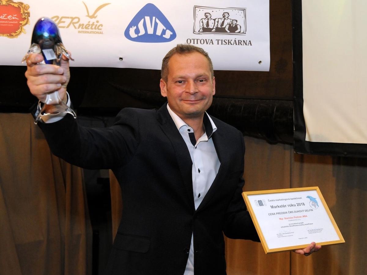 Stanislav Perkner je držitelem titulu Marketér roku 2018