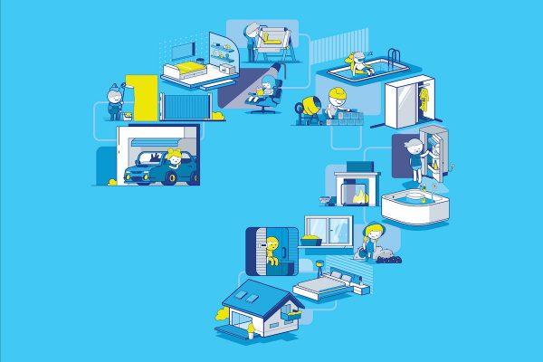 Modrá pyramida radí, jak řešit bydlení v době po koronaviru