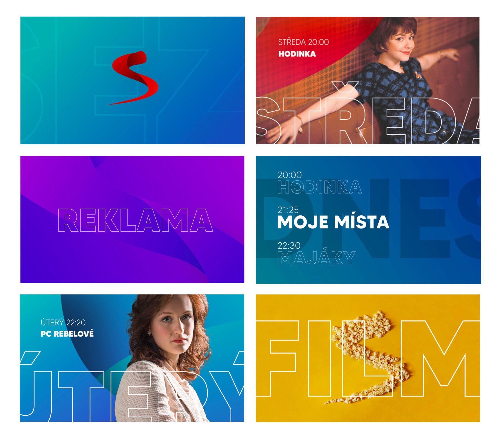 Nová grafika Televize Seznam