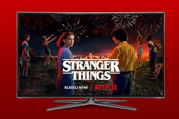 Netflix se v Česku spojil s operátorem Vodafone