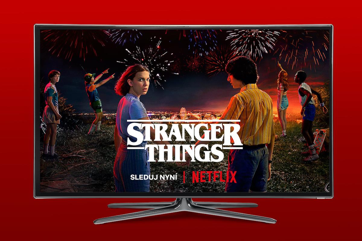 Netflix v nabídce Vodafone TV