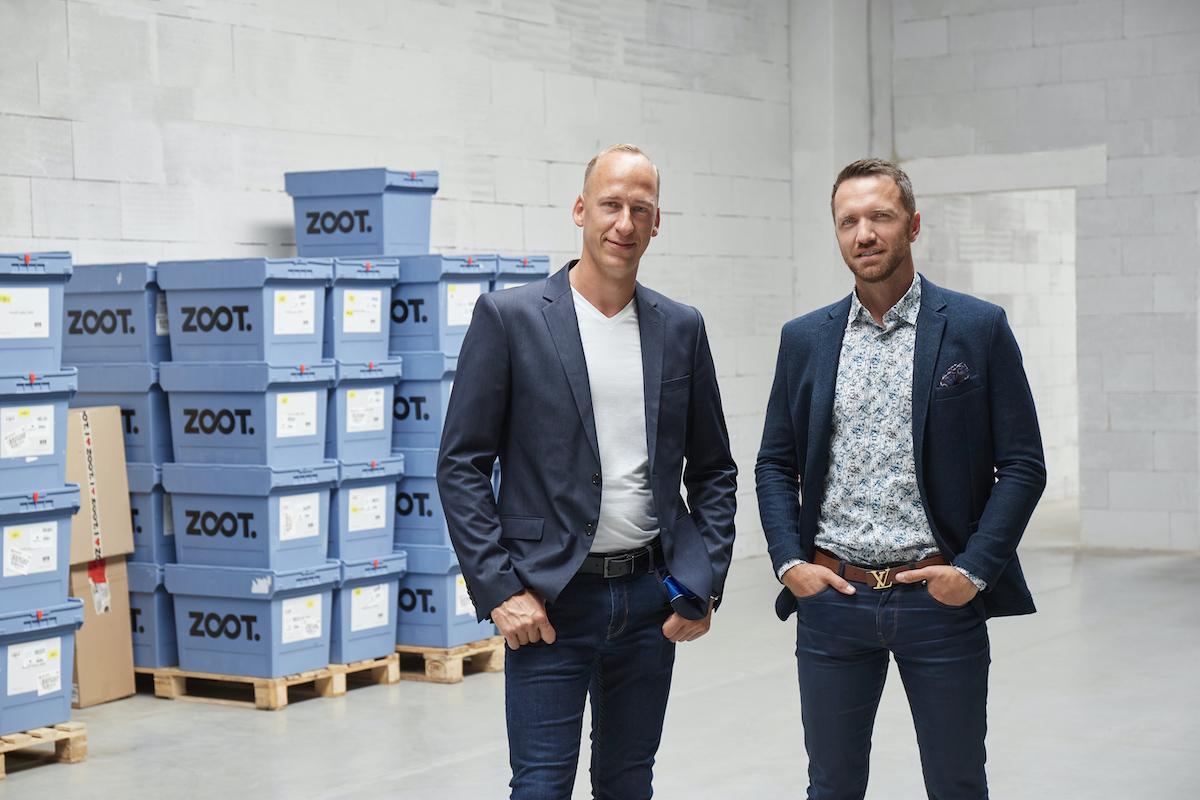 Nový komerční ředitel Martin Vrána (vlevo) a generální ředitel Zootu Milan Polák