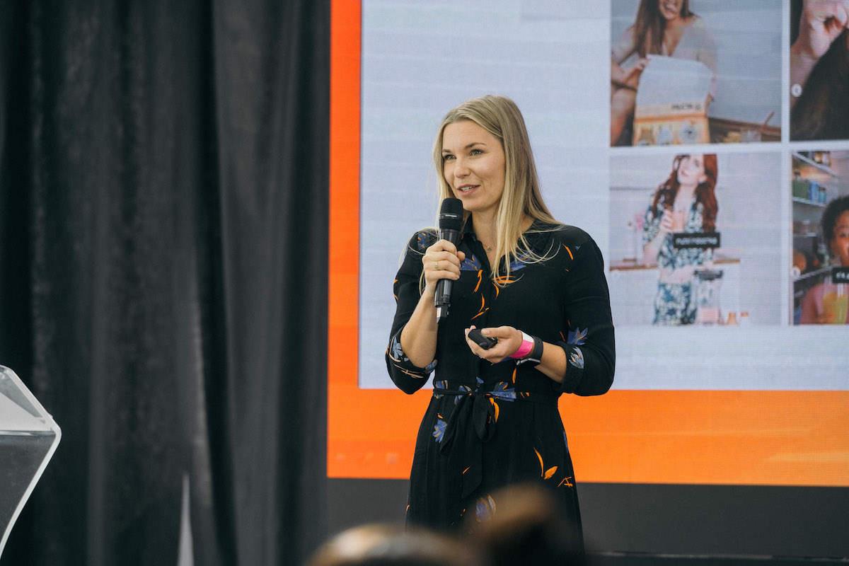 Sandra Richterová z Elite Bloggers. Foto: Lukáš Neasi