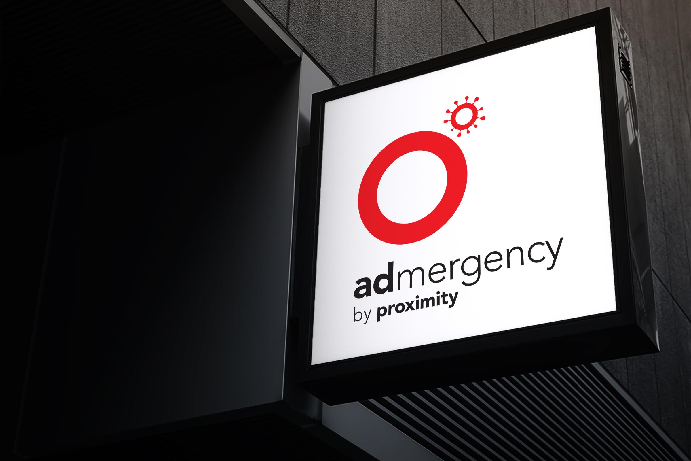 Projekt Admergency agentury Proximity odstartoval 17. září