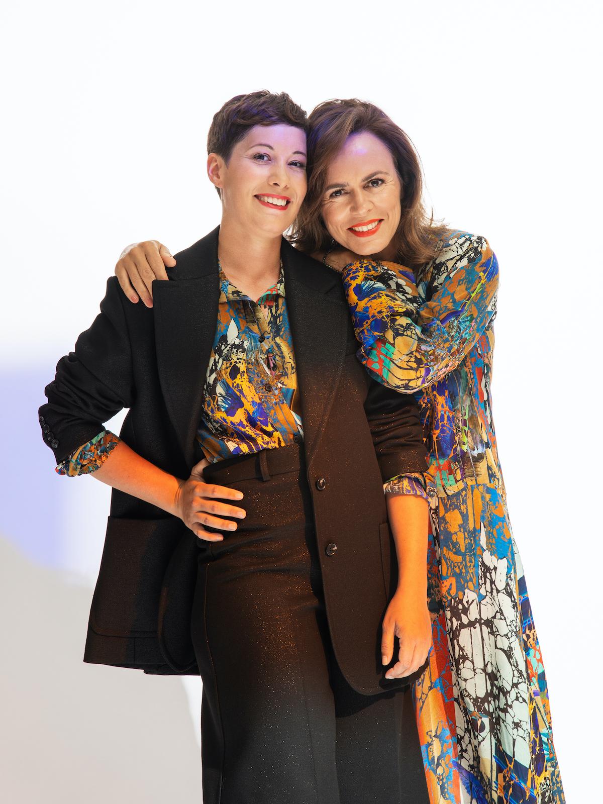 Anna Urbanová a Michaela Kramárová. Foto: Eliška Sky