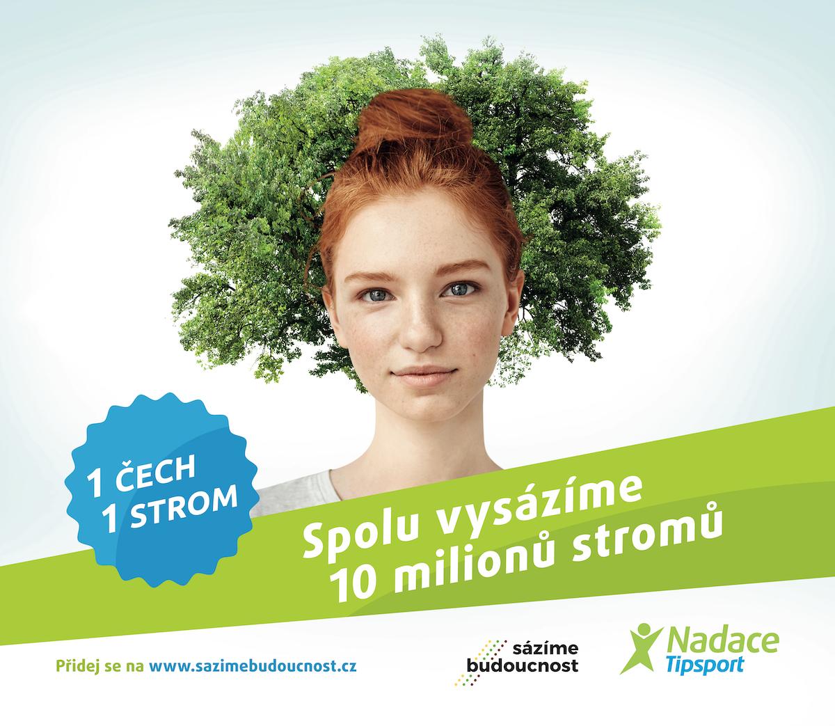 Nadace Tipsport: Jeden Čech, jeden strom