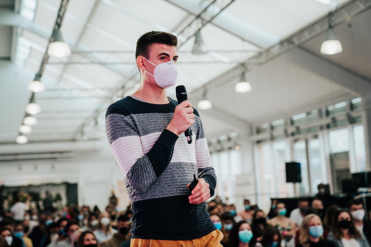Ivo Veselý z Peppermintu. Foto: Michala Rusaňuková