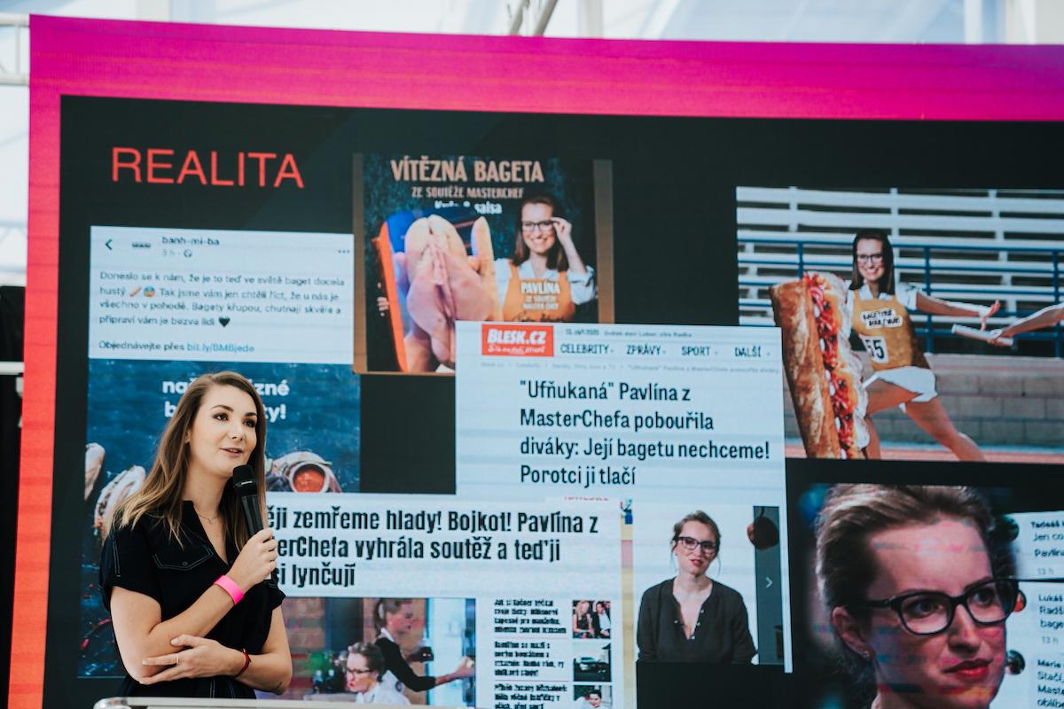 Kateřina Pifflová z televize Nova. Foto: Michala Rusaňuková