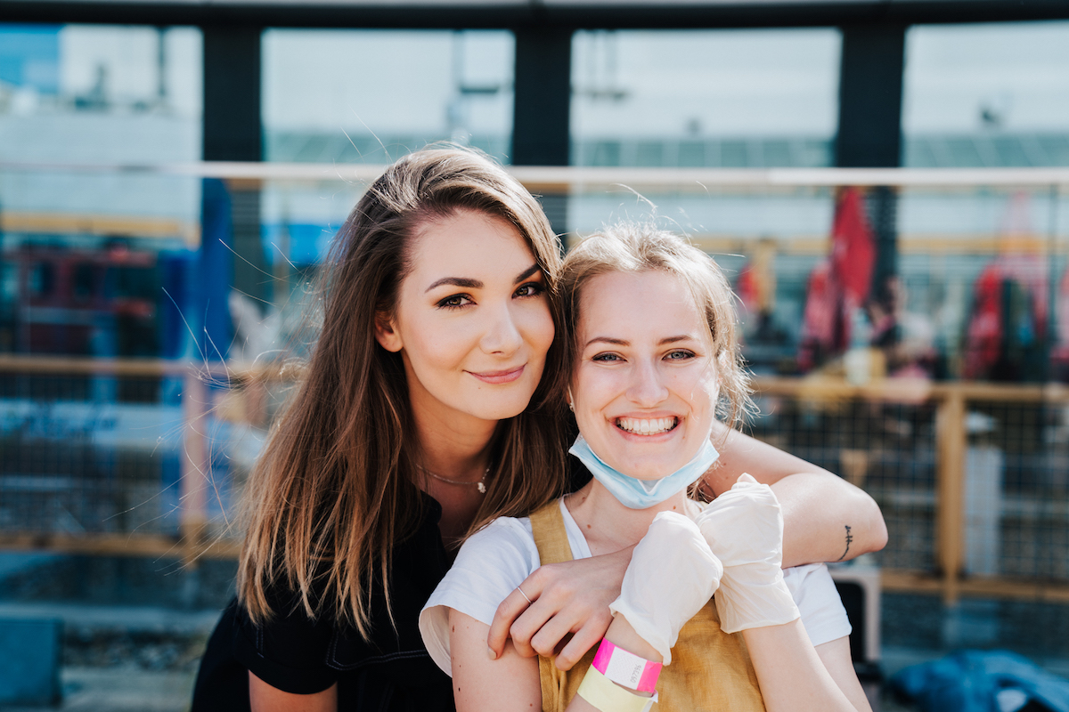 Kateřina Pifflová a Pavlínka z televizní soutěže MasterChef. Foto: Michala Rusaňuková