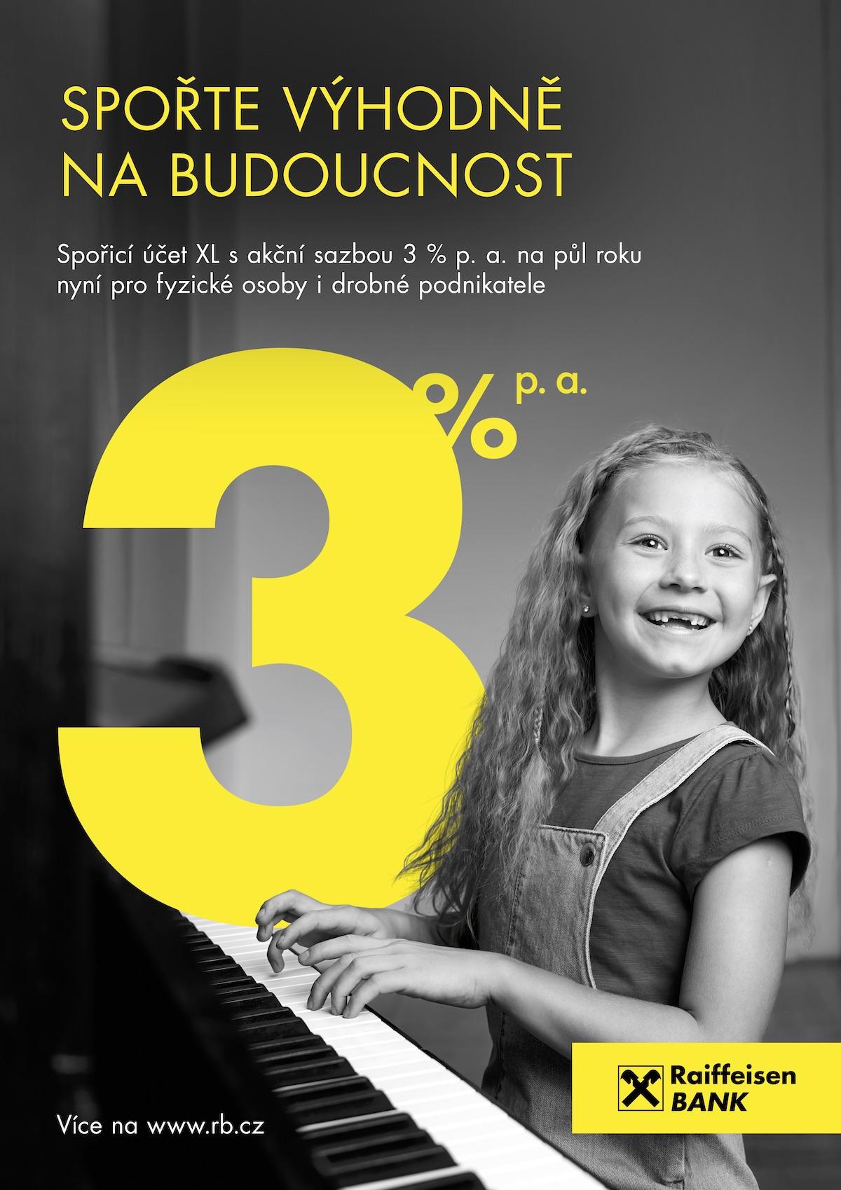 Raiffeisenbank: Respekt: Spořicí účet (DDB Prague)