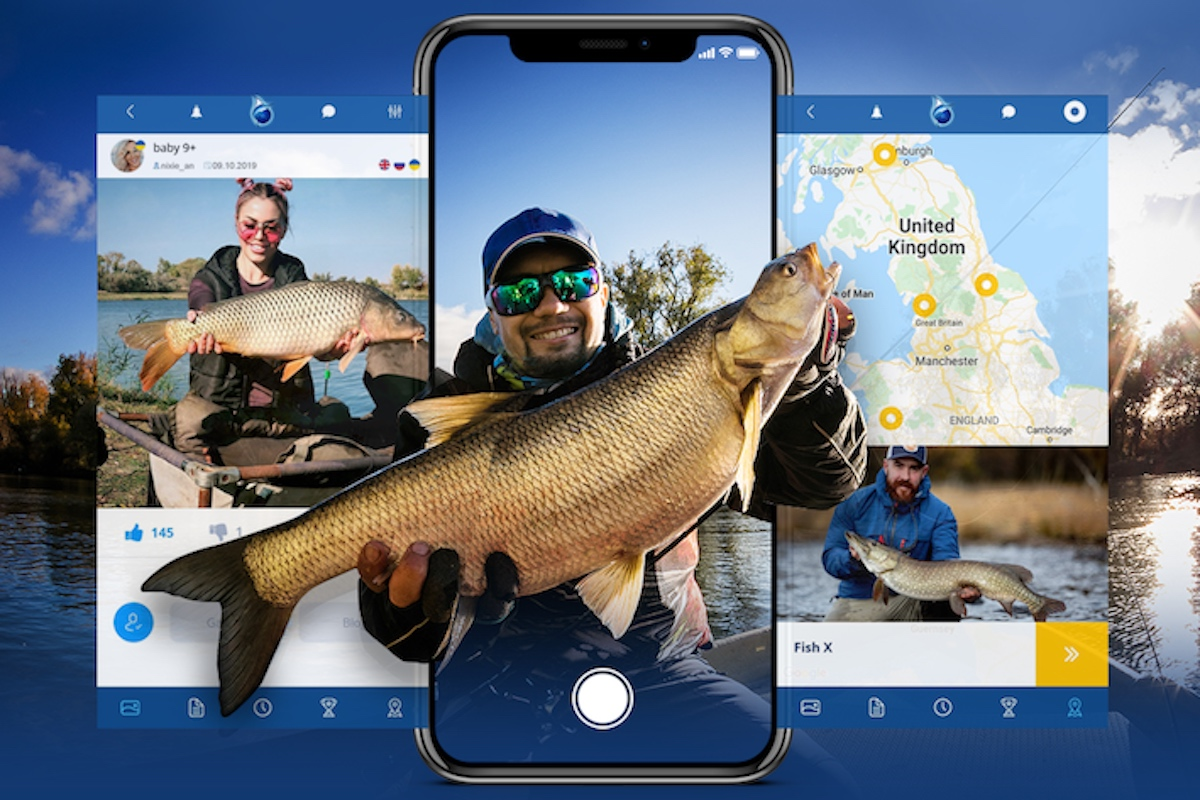 Mobilní aplikace Fishsurfing je určena rybářům