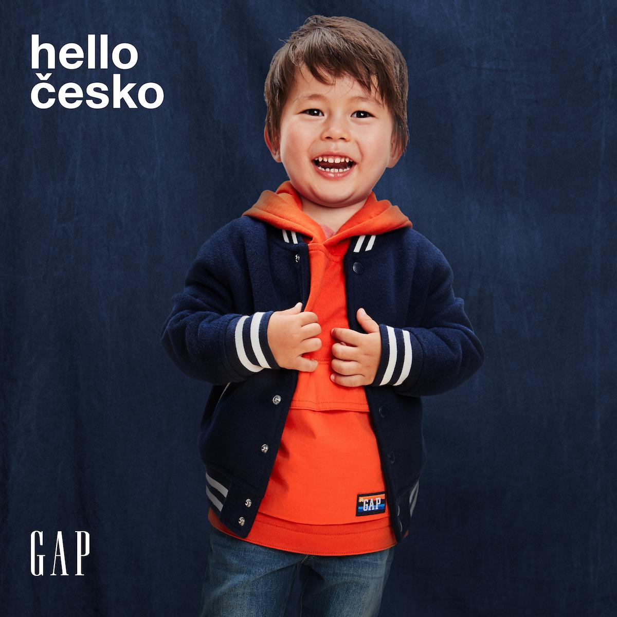 Zaváděcí kampaň značky Gap s globálními vizuály