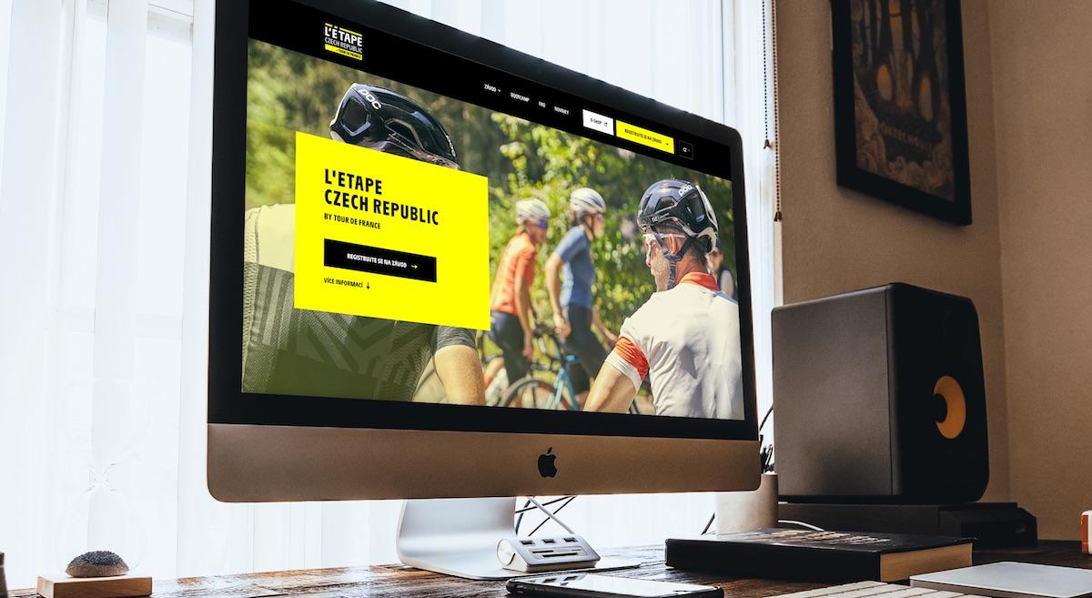 Web závodu L'Etape Czech Republic by Tour de France