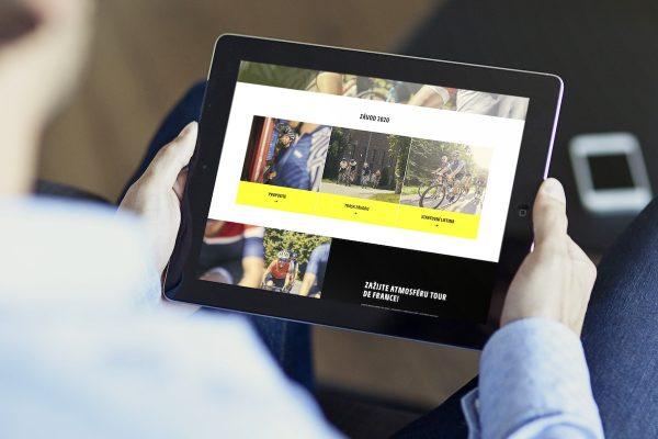 Beneš & Michl vytvořili web pro závod L'Etape