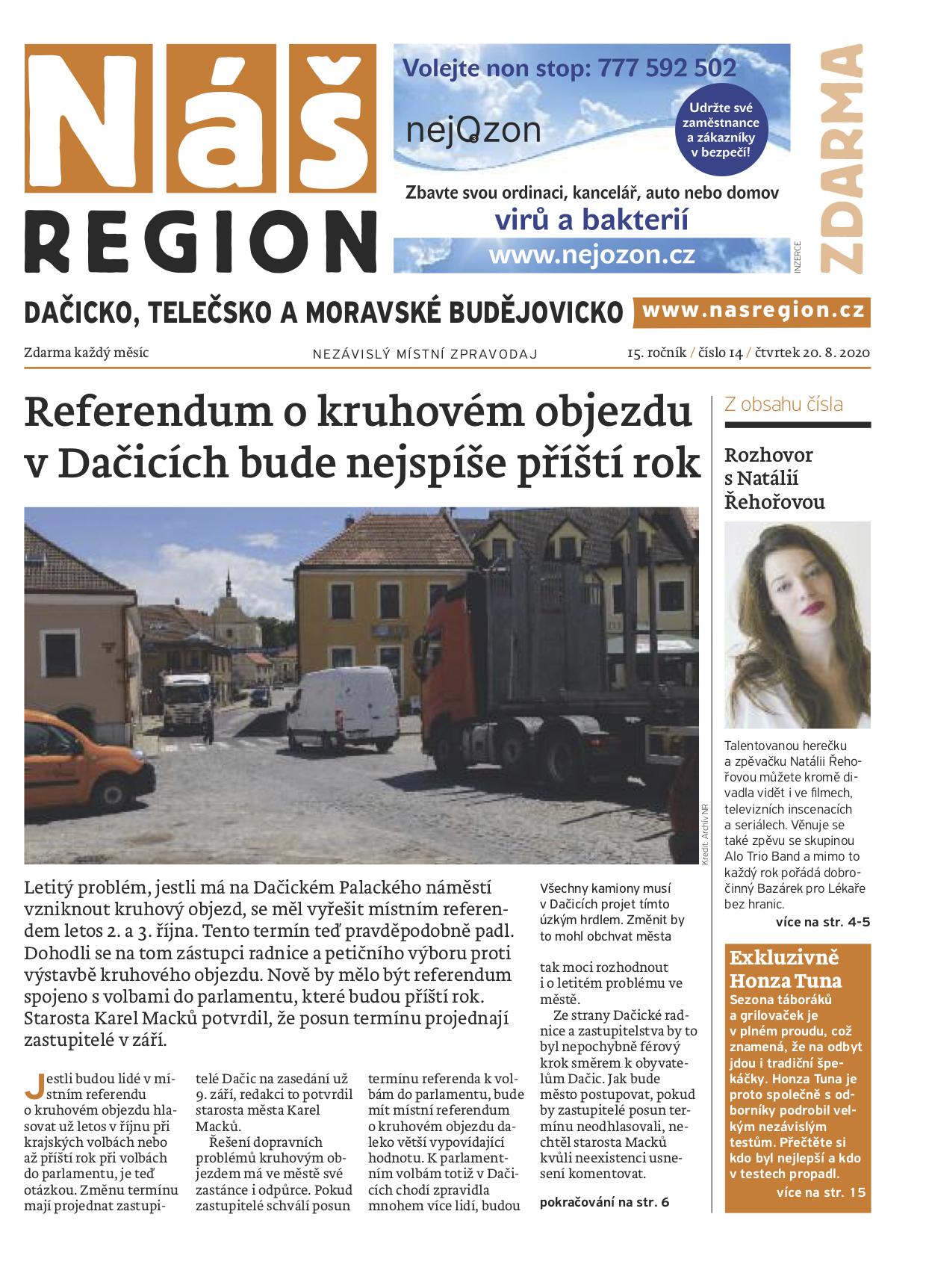 Náš region pro Dačicko a okolí