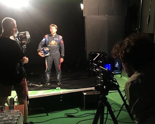 Z natáčení kampaně