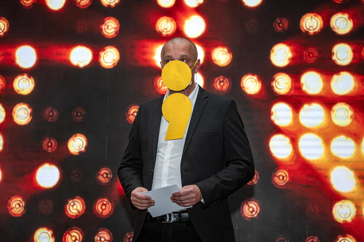 David Koláček, moderátor a produkční galavečera Zlatý středník