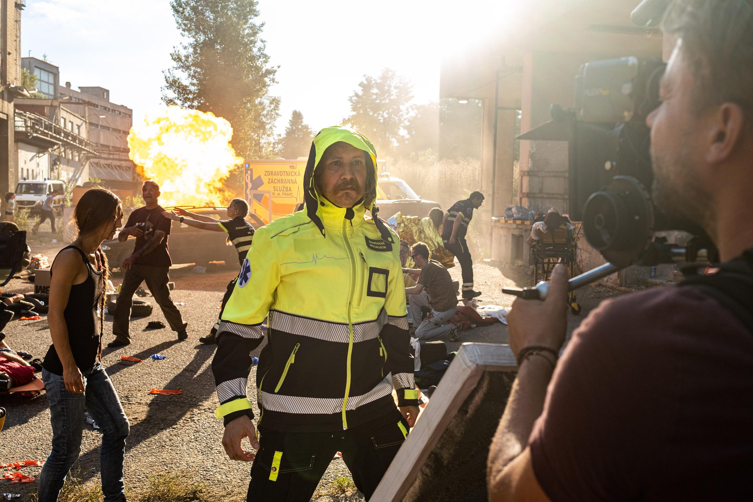 Marek Zelinka v ohni