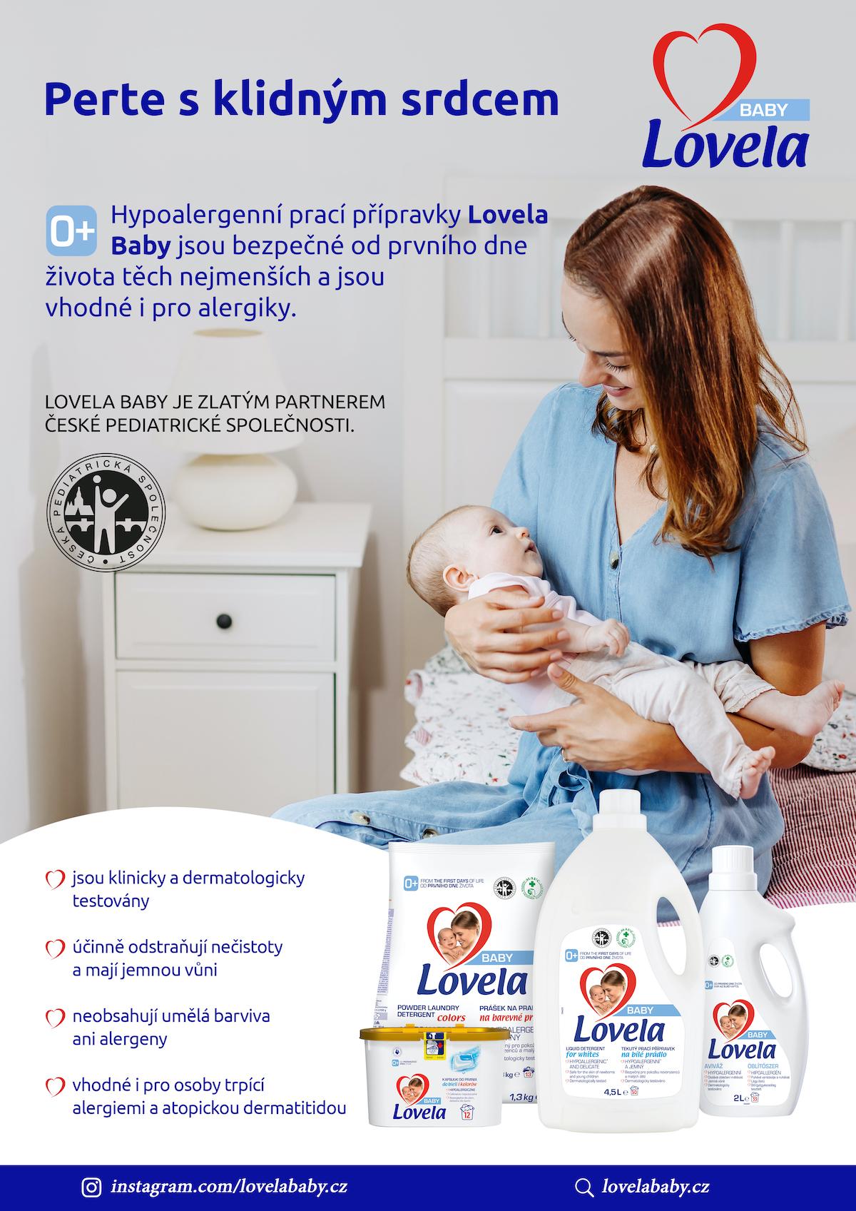 Lovela Baby: Pomáhejme maminkám