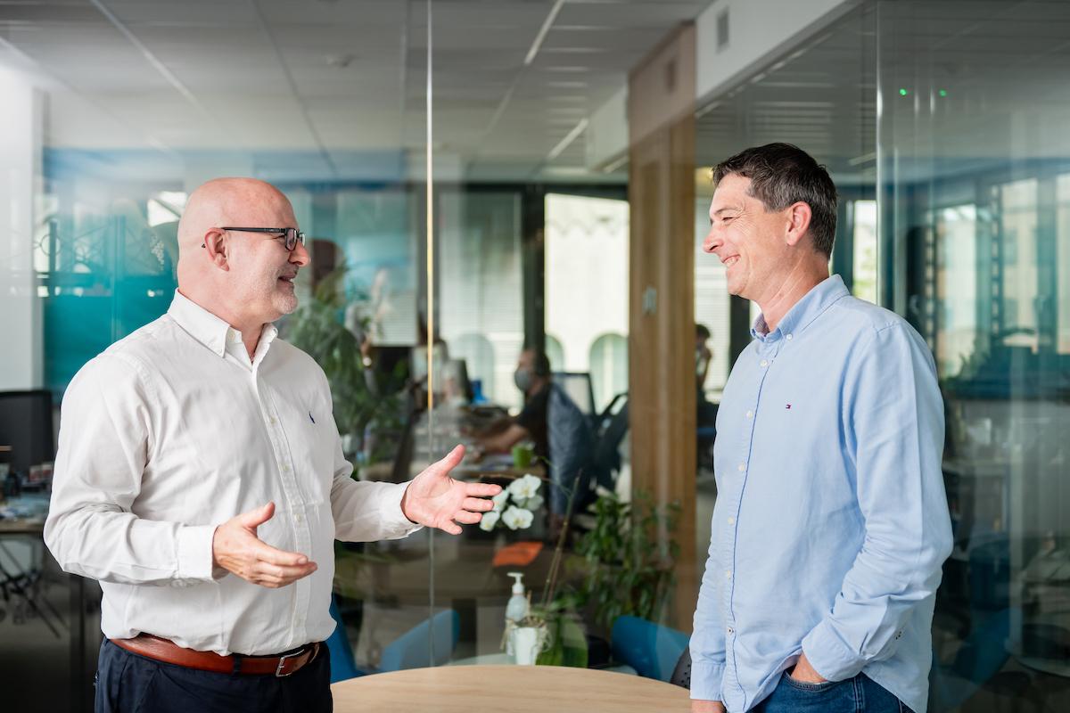 Miroslav Král a Tomáš Ševčík, zakladatelé agentury Marketup