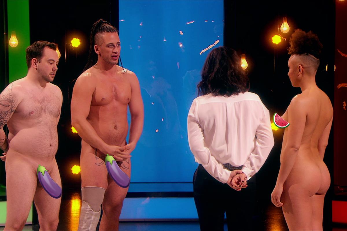 V pořadu Naked Attraction před sebe možní partneři předstupují úplně nazí