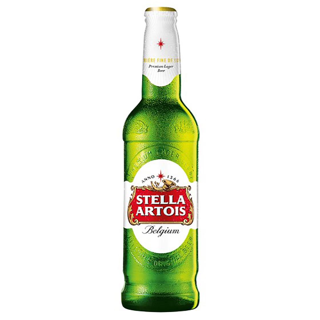 Nová lahev Stella Artois
