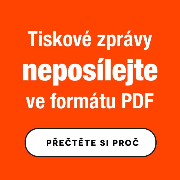Tiskové zprávy neposílejte v PDF