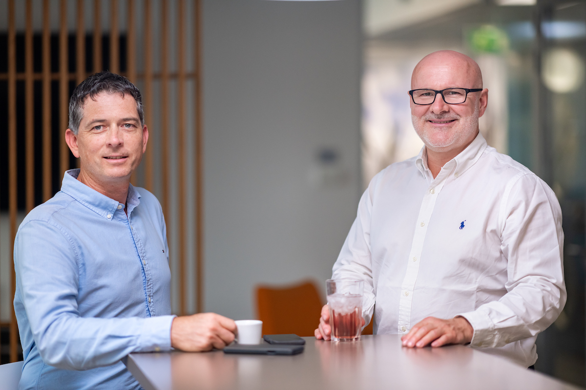Tomáš Ševčík a Miroslav Král, zakladatelé agentury Marketup