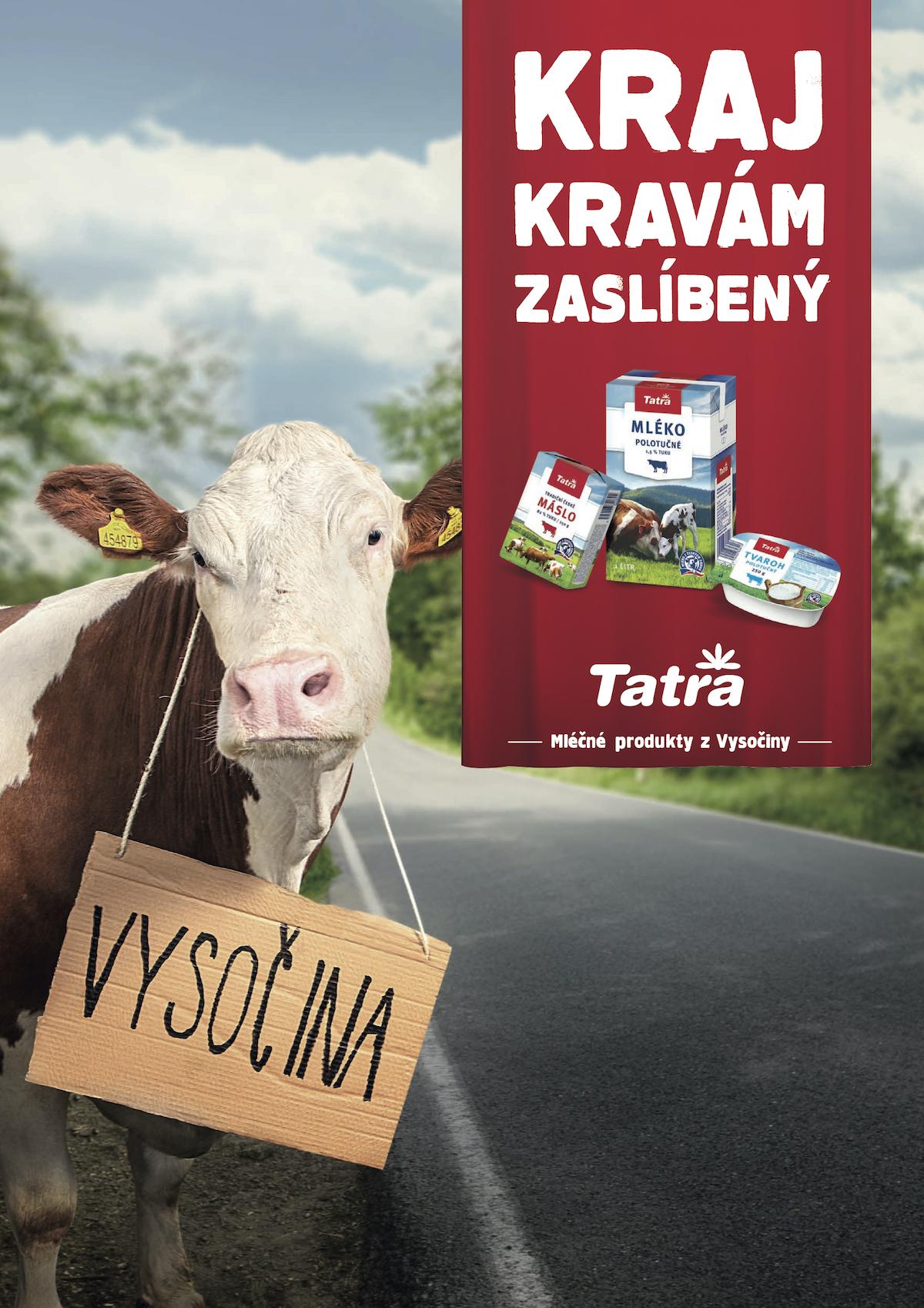 Mlékárna Hlinsko: Stěhovavé krávy (VCCP Prague)