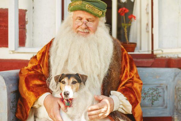 Děd Vševěd a pes Krasty