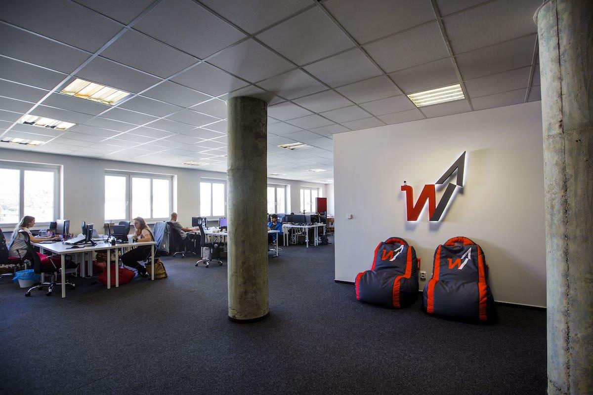 Kanceláře zlínské agentury Weboo