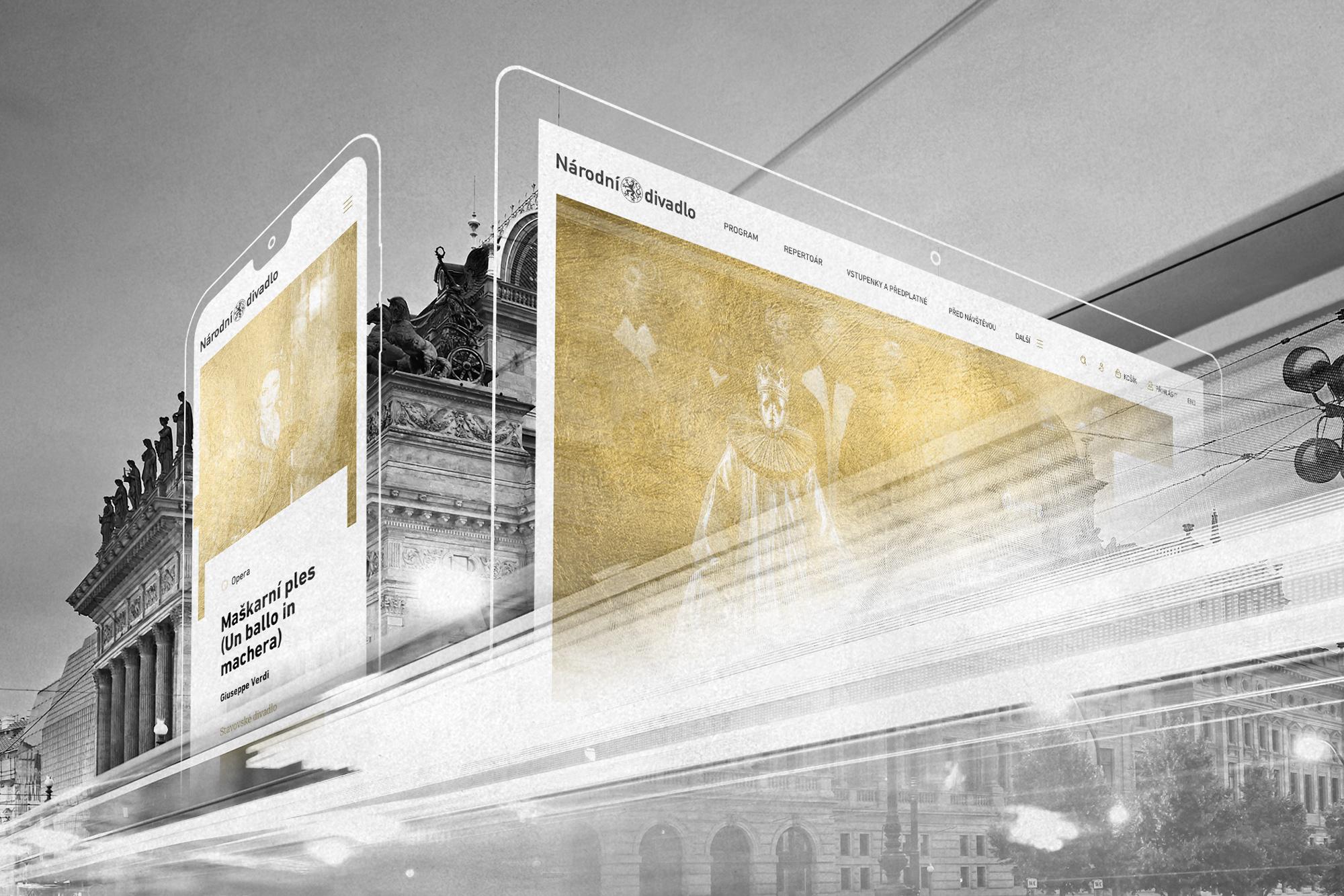 Nový web Národního divadla vytvořilo Symbio.digital
