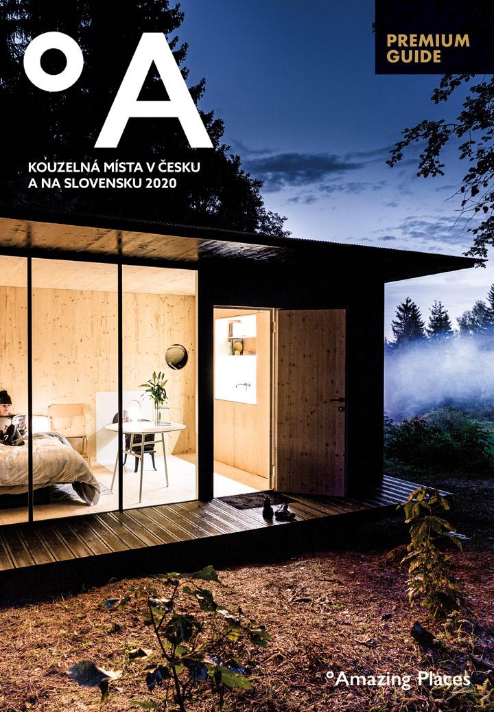 Titulní strana časopisu Amazing Places z edice Premium Guide
