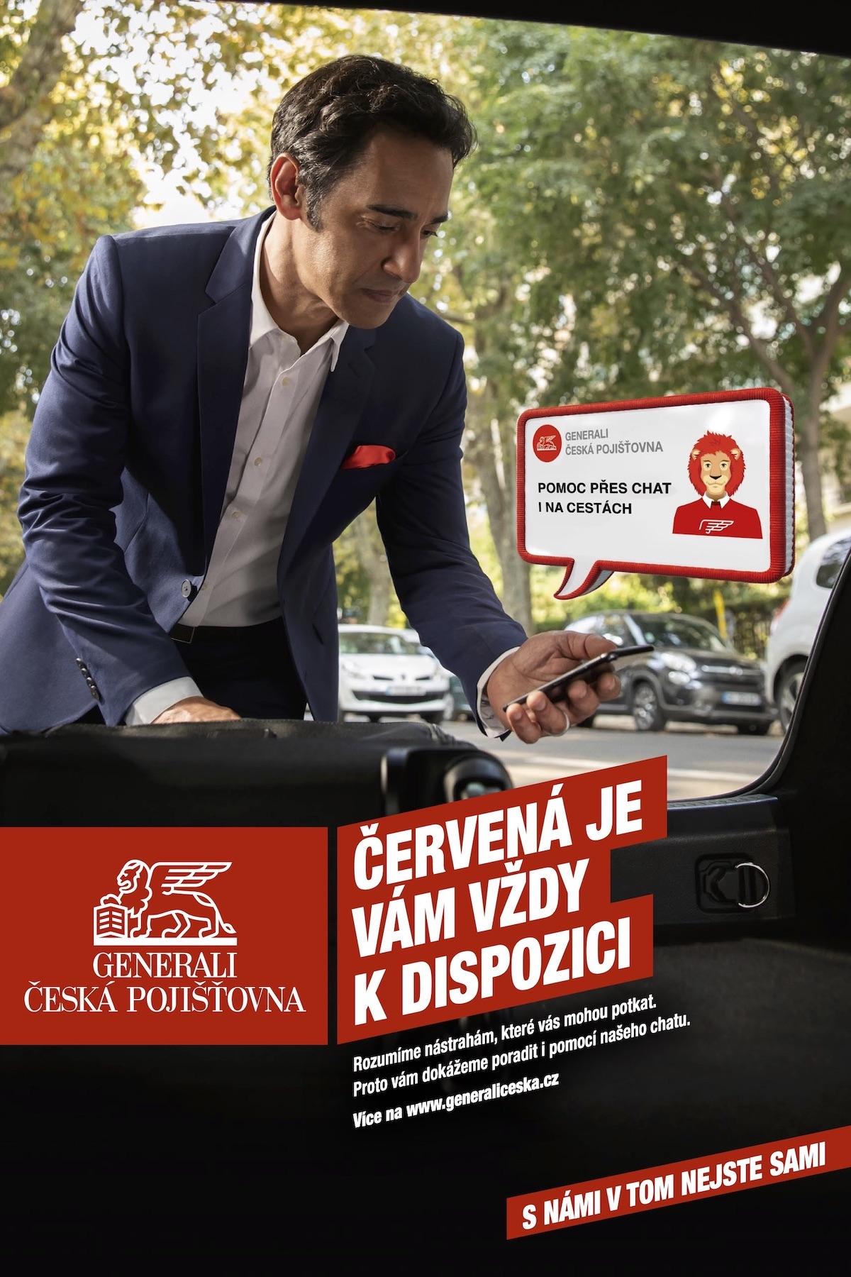 Generali Česká pojišťovna: Červená