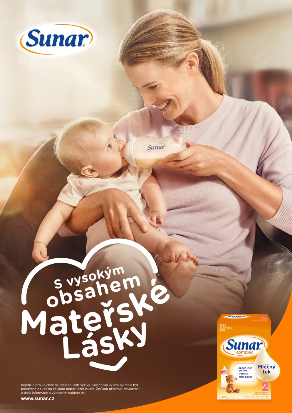 Sunar: S vysokým obsahem mateřské lásky (Saatchi & Saatchi)