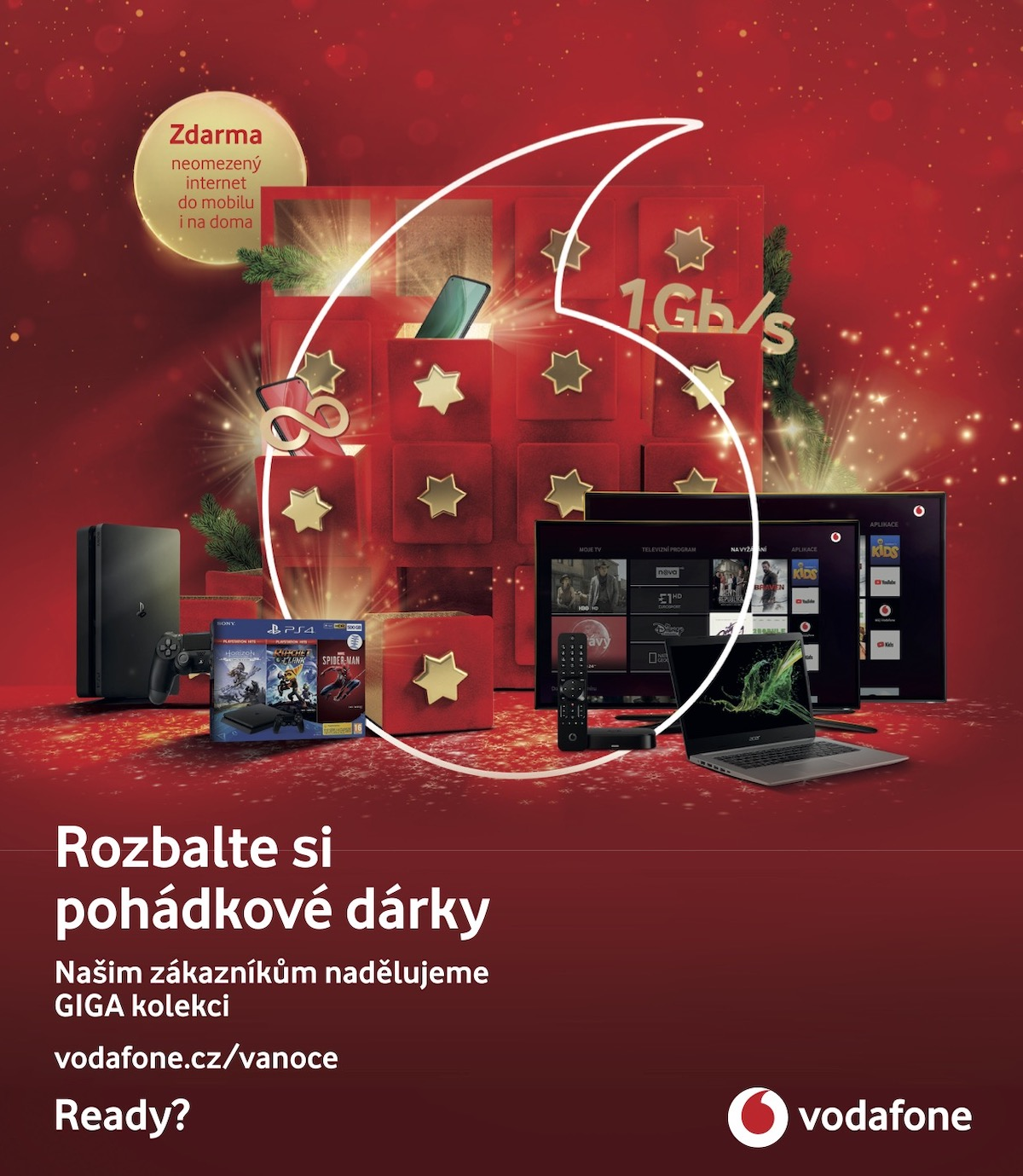 Vodafone: Giga Vánoce (McCann Prague)