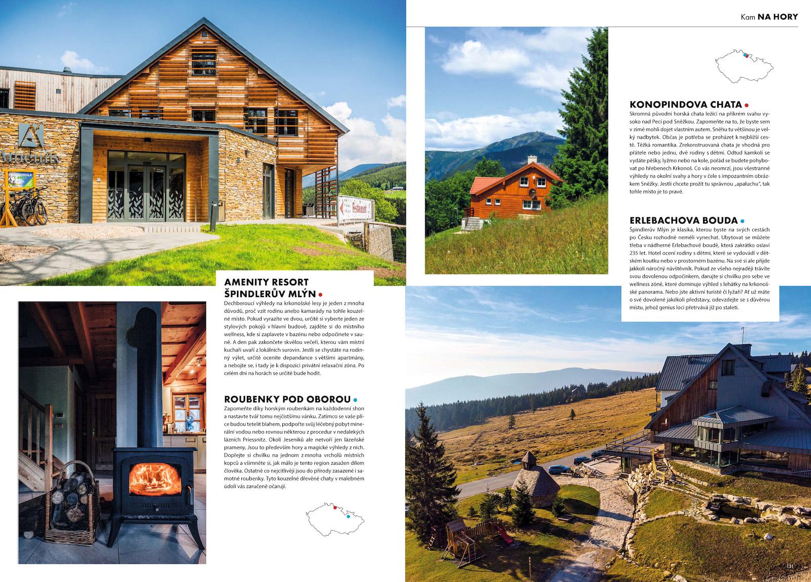 Ukázka z časopisu Amazing Places z edice Premium Guide